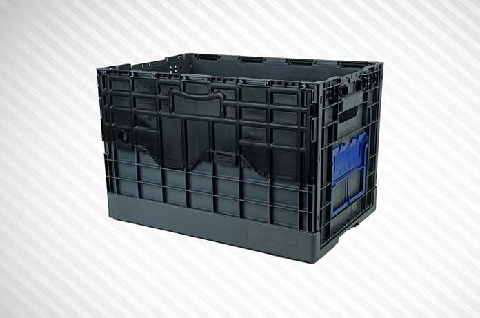 Jakie zalety mają skrzynki plastikowe składane?